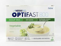 Formula | Optifast® 800 Meal Replacement Soup | Vegetable Soup | 6 Boxes