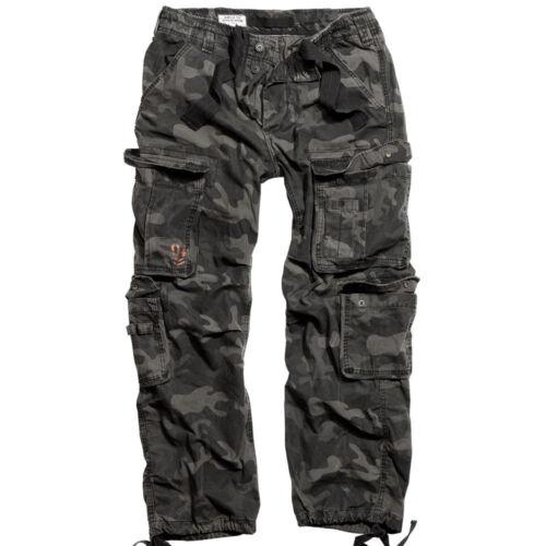 Surplus de Airborne fonc Tex travail de combat Camo Army Pantalon militaire Pantalon 0SZBw