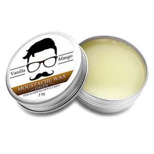 Moustache-Wax-Style-amp-Moisturise-Beards-30g-Tins-Fruit-flavor-Nice-LU7