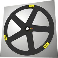 Mavic Io Carbon Wheel 700c Oval Logo Replacement Decal Set For 1 Wheel