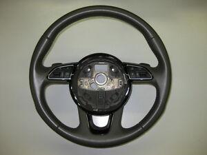 AUDI-Q3-8u-SUV-Multifuncional-schaltwippen-Sport-volante-de-cuero-MFL-Y103