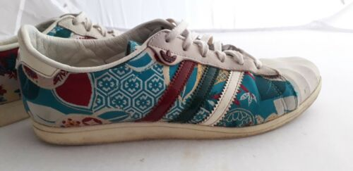 Fast Pumps 4 rare Turquoise Vintage Adidas Postage Size XYqOTH