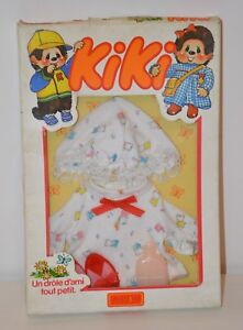 Inventif Outfit Clothes Kiki 19cm Tenue Nuit Monchhichi Sekiguchi Ajena Vêtements Vintage