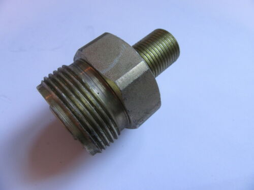 """1 1//4/"""" X 1//2/"""" Macho Extractor Tipo acoplamiento hidráulico #26A63"""