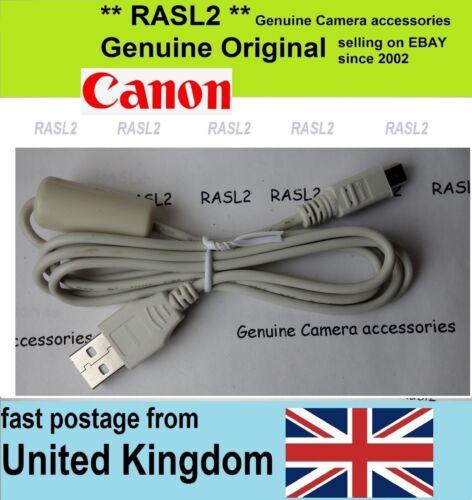 Genuine Original Canon USB Cable IFC-400pcu EOS Rebel XT XTi GL2 1000D 550D 50D