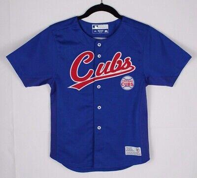 Verlegen Chicago Cubs Soriano Baseballtrikot Tf Echt Fan Sew Junge Kinder Blau Größe L/g Befangen Gehemmt Unsicher Selbstbewusst