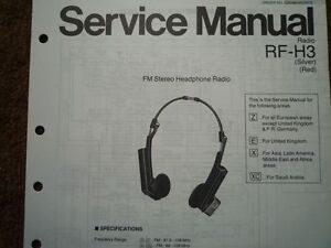 NATIONAL PANASONIC RF-H3 Headphone Radio Service manual wiring parts on panasonic help, panasonic schematic diagram, panasonic connectors diagram, panasonic car stereo wiring, panasonic manuals, panasonic parts,