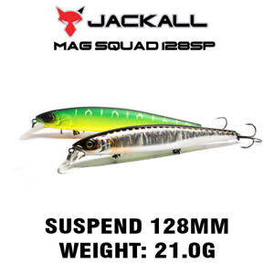 JACKALL BROS MAG SQUAD 128 SP Suspend Jerkbait Lure 128MM 21.0G More colors