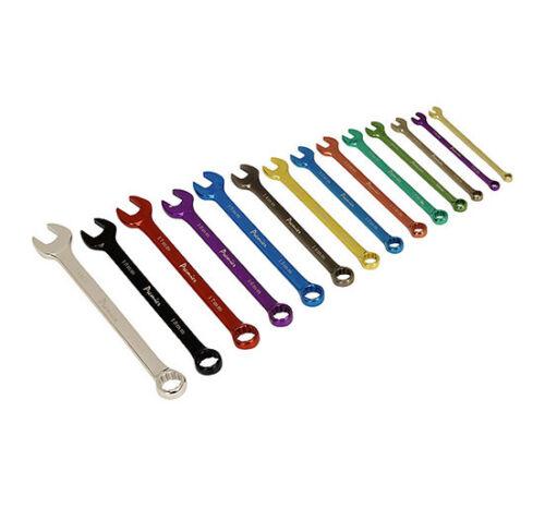 Sealey Ak6314 Combination Spanner Set 14Pc Multicolore Métrique