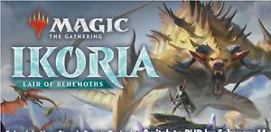 Pre sale! Complete Common and Uncommon Set x4 Lair of Behemoths MTG Ikoria