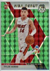 2019-20 Panini Prizm Mosaic Tyler Herro Rookie Card RC Green Debut Miami Heat 🔥