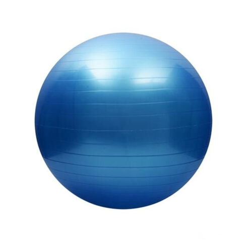 330lb Max Load 2mm Thickened PVC Yoga Ball With Air Pump Home Gym Workouts