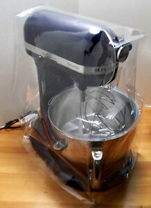 Details about KITCHENAID CLEAR VINYL DUST COVER CUSTOM MADE FOR  PROFESSIONAL 6 QT, MIXER