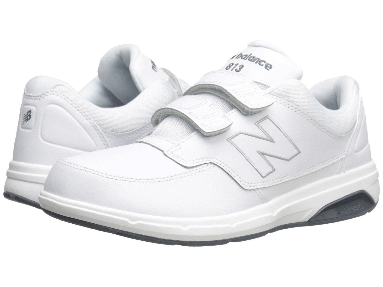 Men New Balance MW813HWT Walking Hook & Loop 100% Exra Wide 4E Weiß 100% Loop Authentic 68a366