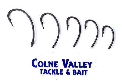 Carp hooks curvi long shank 4,6,8 barbed anti scare,encounter range cv tackle