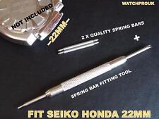 Qualità MOLLA BAR SET + Tool Per Adattarsi SEIKO SPORTURA HONDA RACING F1