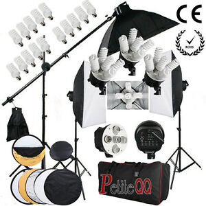Image is loading 2850W-Photography-Continuous-Lighting-Soft-Box-Softbox -Studio-  sc 1 st  eBay & 2850W Photography Continuous Lighting Soft Box Softbox Studio Kit ... azcodes.com