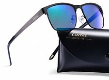 Carfia Polarized Mens Sunglasses Vintage Driving Glasses Outdoor Sports Metal