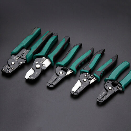 Wire Cutter Stripper Crimper Tool Terminal Crimping Connector Insulated Pliers