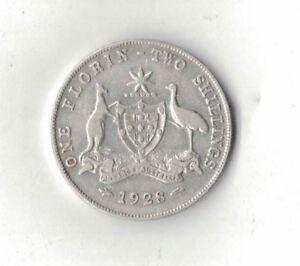 1929-Australia-Two-Shillings-Florin-VF