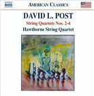 David L. Post: String Quartets Nos. 2-4 (CD, Nov-2010, Naxos (Distributor))