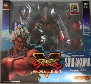 Storm Collectibles STREET FIGHTER V Shin Akuma Arcade Edition-SDCC 2018