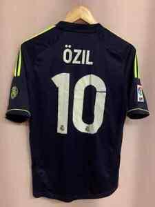 REAL MADRID SPAIN 2012/2013 AWAY FOOTBALL SHIRT JERSEY CAMISETA SIZE S OZIL #10