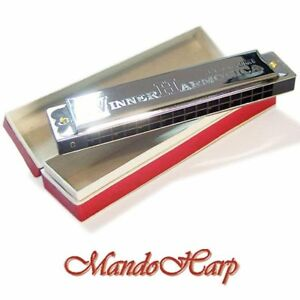 Suzuki-Tremolo-Harmonica-W-16-Winner-Key-of-C-16-hole-32-reed-NEW