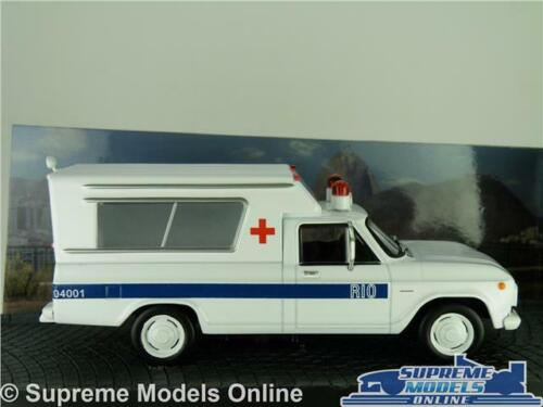 Chevrolet C-10 modelo ambulancia coche furgoneta Moonraker película de James Bond 1:43 IXO K8