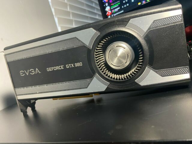 USED EVGA GeForce GTX 980 SC 4GB SC GAMING, Silent Cooling Graphics Card