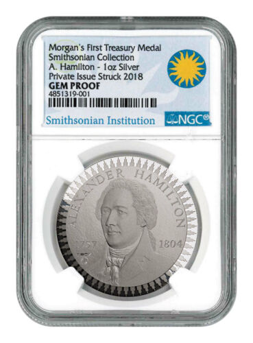 1903 Morgan Treasury 1 oz Silver PF Pattern NGC GEM Proof Smithsonian SKU54457