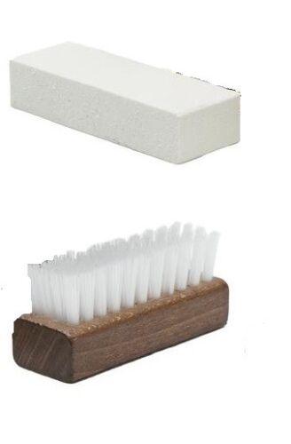 Angelus Suede Nu-buck Bristle Brush Block Cleaning Kit
