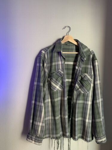 CARHARTT MENS LARGE FLANNEL