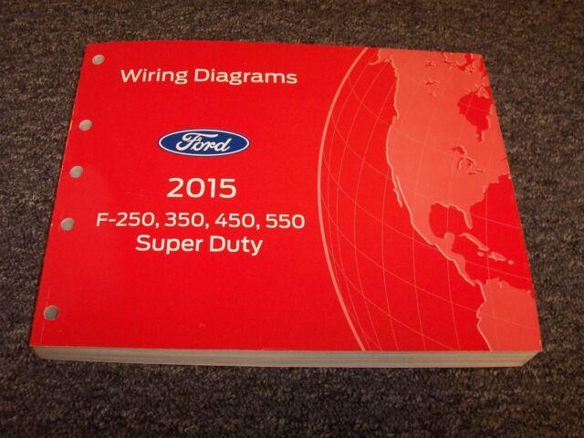 2015 Ford F250 Super Duty Truck Wiring Diagram Manual Xlt