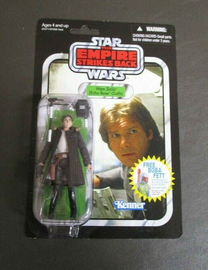 Han Solo Echo Base Outfit 2010 STAR WARS Vintage Collection VC03 MOC