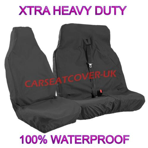 06-13 330 2.4 TDCI SWB H.DUTY WATERPROOF BLACK VAN SEAT COVERS FORD TRANSIT