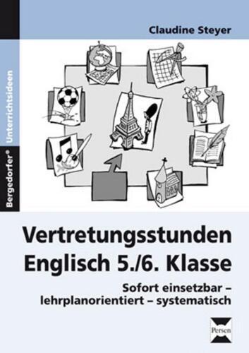 1 von 1 - Vertretungsstunden Englisch 5./6. Klasse von Claudine Steyer (2014, Geheftet)