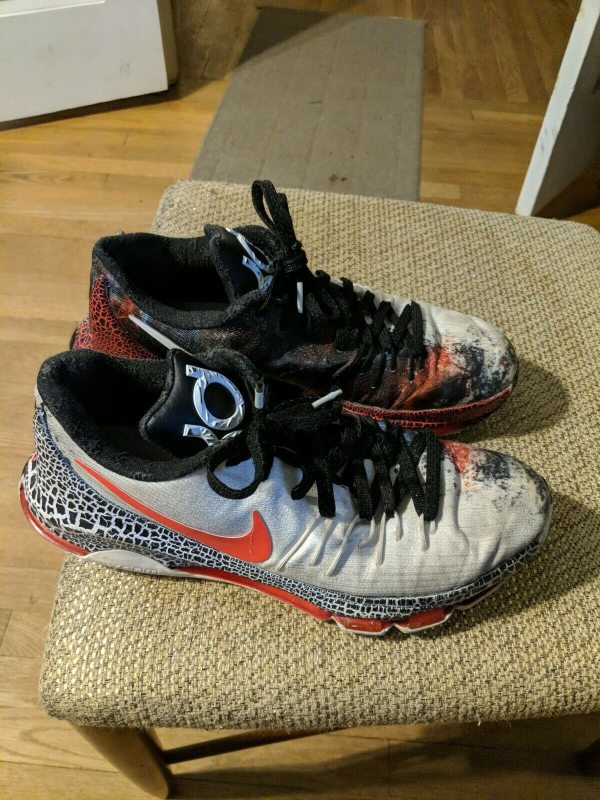 the latest 2984c 5a79b Mens Nike KD 8 VIII Kevin Durant Durant Durant size 10.5 ...