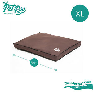 Pet Bed Mattress Dog Cat Pad Mat Summer Cushion Pillow Soft Washable Canvas XL