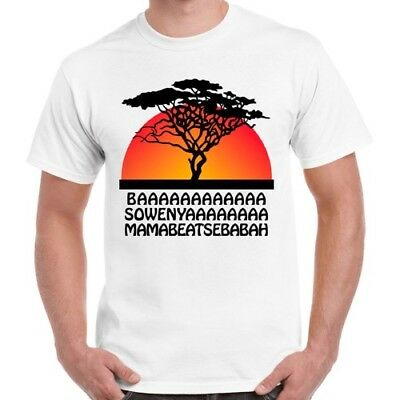 Lion King Funny Baa Sowenya Sunshine Circle of Life Cool Retro T Shirt 457