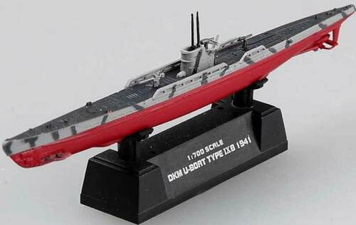 Easy Model DKM U-Boat Type IXB IX B 9 1941 U-Boot Typ Fertigmodell 1:700 Marine