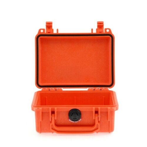 Peli case 1120 sin espuma naranja cámara maleta protección maleta outdoor case nuevo