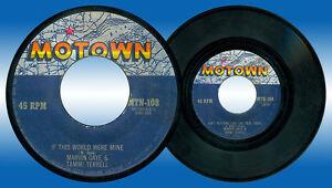 Philippines-MARVIN-GAYE-amp-TAMMI-TERRELL-If-This-World-Were-Mine-45-rpm-Record