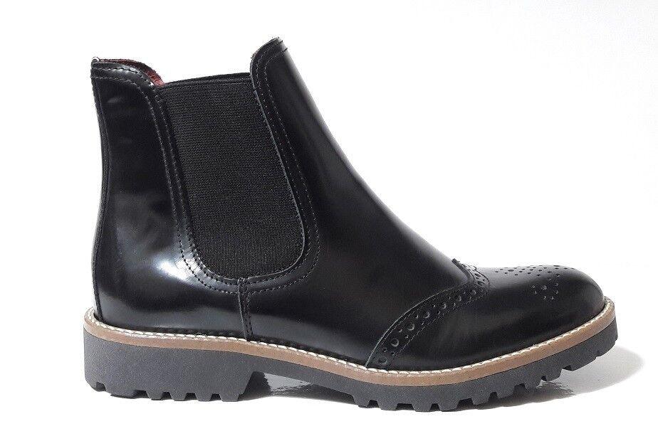 zapatos STIVALETTI mujer verde STEP 9792W PELLE SPLENDOR MADE negro ELASTICO MADE SPLENDOR ITALY cfb435