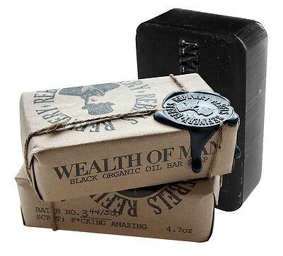 Rebels Refinery - Wealth of Man Black Organic Oil Soap