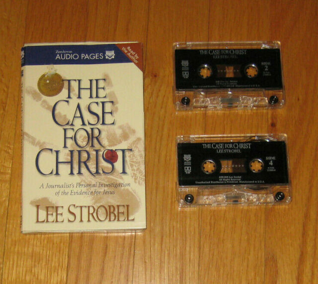 The Case For Christ Lee Strobel Cassette Tapes FREE SHIPPING