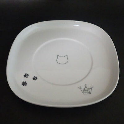 Cat Supplies Cat Ceramic Tray For Necoichi Water & Food Bowl With Leg Single Tray Only To Have Both The Quality Of Tenacity And Hardness