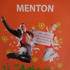 Cartel-Forum-Aplicacion-Metiers-Jobs-Verano-Palacio-Europa-Menton-2009-Pn