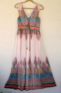 Alberto Makali sz 10 maxi dress