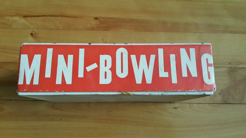 Vintage mini-bowling jeux game , mini-quilles jeux mini-bowling ( canadian ) 1b2640